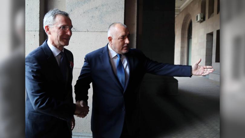 снимка 3 Акцентите след срещата на премиера Борисов с генералния секретар на НАТО