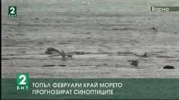 Топъл февруари край морето прогнозират синоптиците