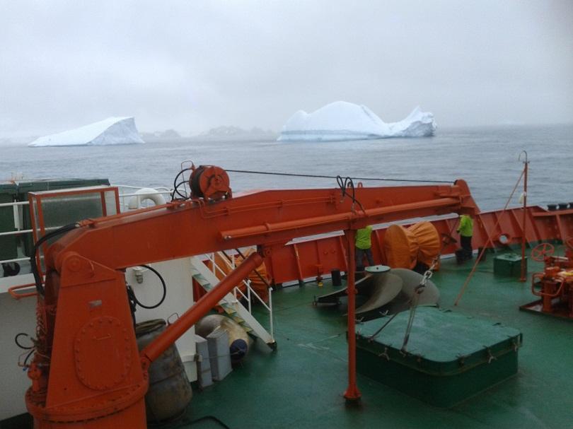 Българските полярници на прага на базата в Антарктида