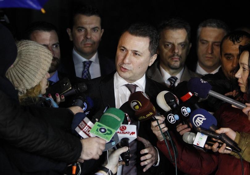 Лидерът на ВМРО-ДПМНЕ Никола Груевски