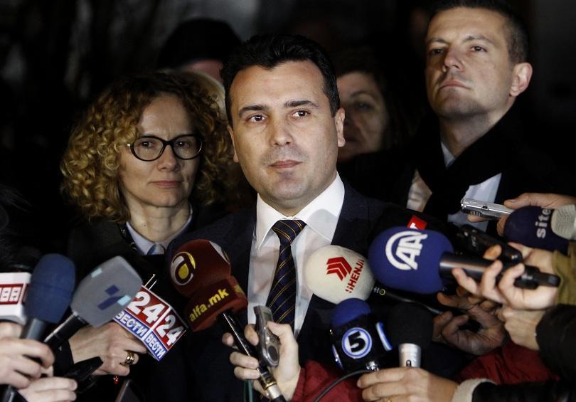 Лидерът на СДСМ Зоран Заев