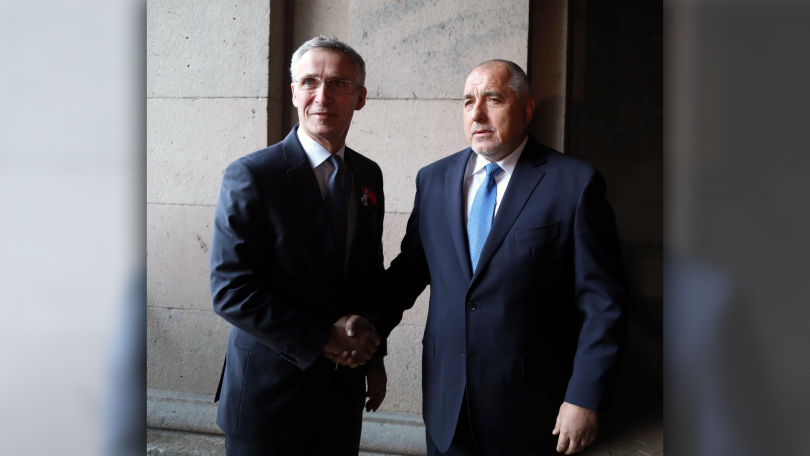 снимка 2 Акцентите след срещата на премиера Борисов с генералния секретар на НАТО