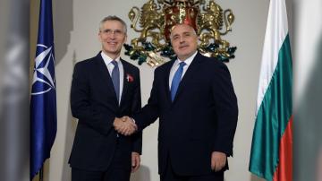 Акцентите след срещата на премиера Борисов с генералния секретар на НАТО