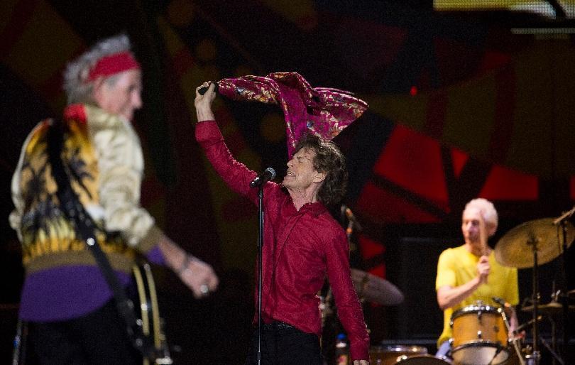 Концерт на Ролинг Стоунс в Хавана