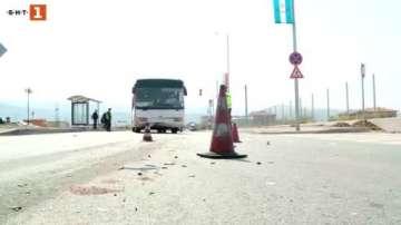 Две катастрофи с автобуси на една и съща фирма станаха за ден в Пловдив