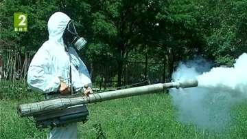 Отново пръскат срещу комари в Пловдив