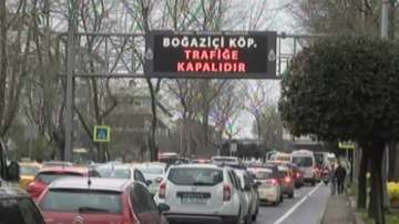 Мост над Босфора беше затворен заради подозрителен автомобил