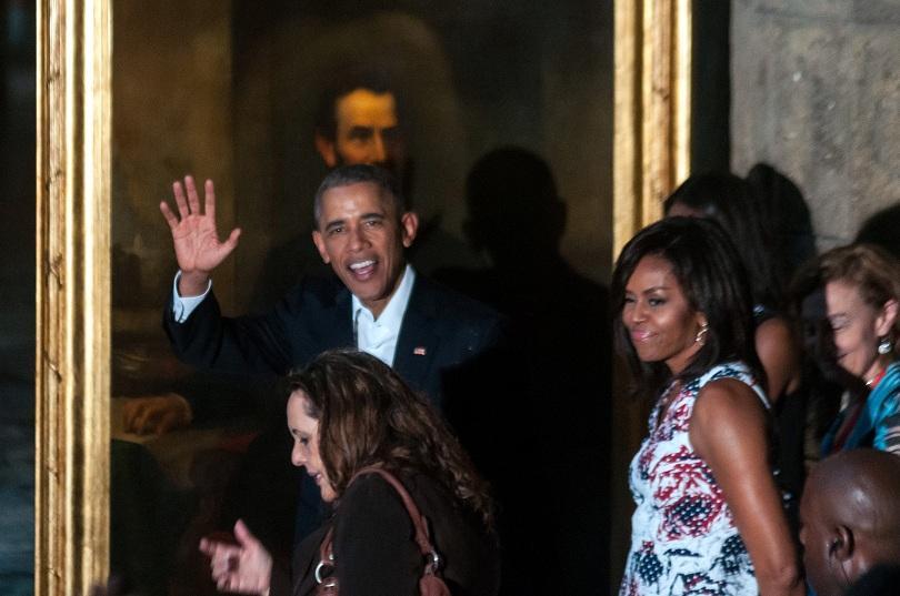 снимка 1 Барак Обама в Хавана - (извън)протоколно (ФОТОГАЛЕРИЯ)