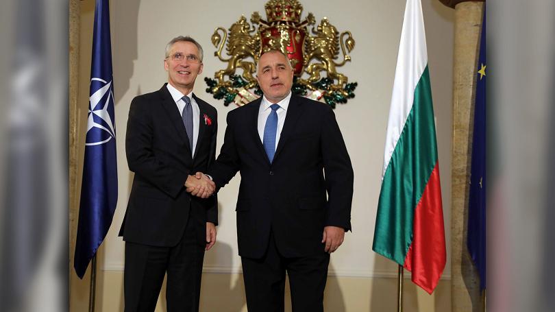 снимка 4 Акцентите след срещата на премиера Борисов с генералния секретар на НАТО