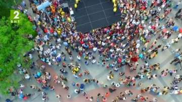 Втори танцов уличен карнавал в Пловдив