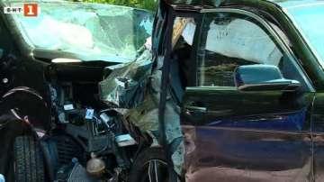 Двама загинали и десет ранени при верижни катастрофи на Тракия
