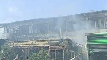 Пожар на борсата в Първенец. Няма пострадали
