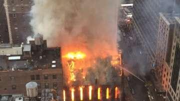 Изгоря сръбската православна църква в Ню Йорк