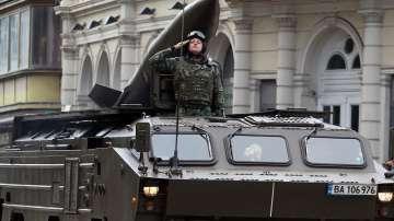Военният парад за Гергьовден в снимки (фотогалерия)