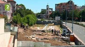 Нови открития в Голямата базилика в Пловдив