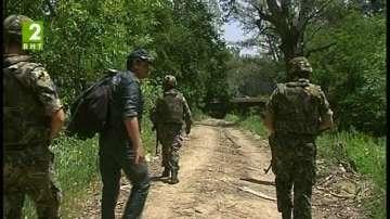 Група от 70 бежанци са били задържани на ГКПП Илинден