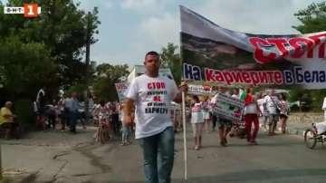 Жителите на пет пловдивски села протестират заради запрашаването на въздуха