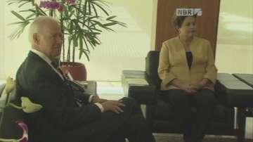Джо Байдън на необявено посещение в Ирак