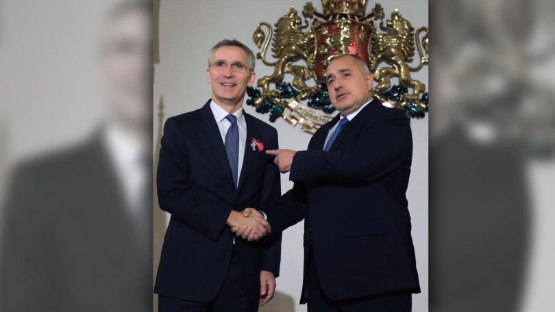 снимка 1 Акцентите след срещата на премиера Борисов с генералния секретар на НАТО