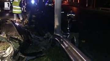 Баща и син загинаха при катастрофа в Русе