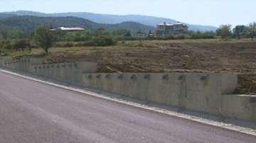 Завършиха укрепването на пътя за Горни Воден