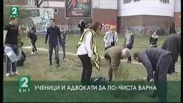 Ученици и адвокати за по-чиста Варна