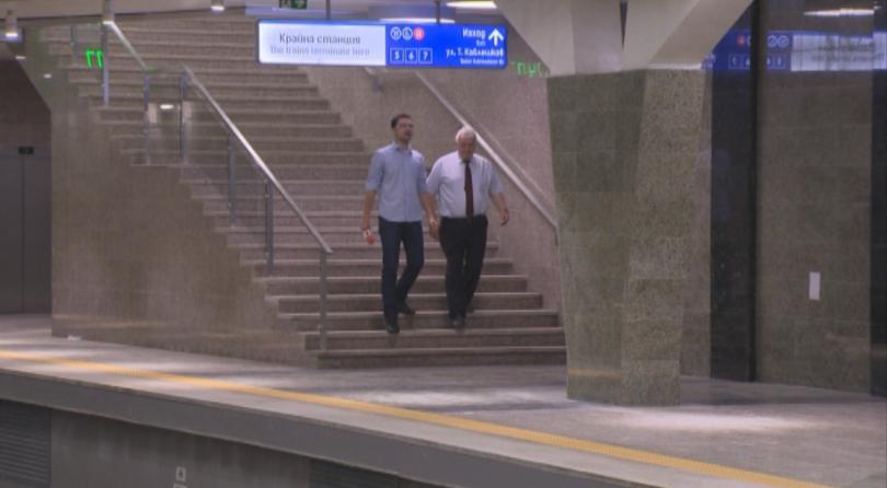 снимка 1 Разширението на метрото до Черни връх - готово до 24 юли