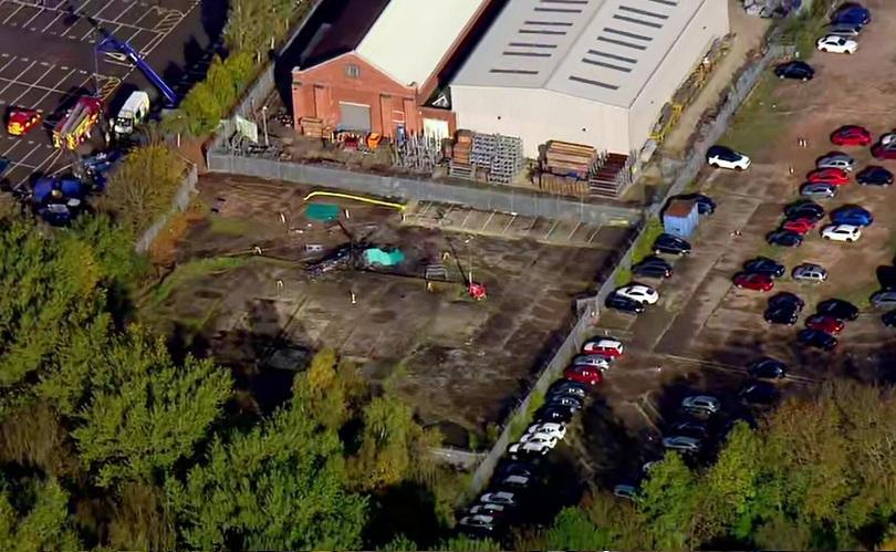 собственикът лестър загина инцидент вертолет въздуха снимки