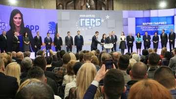 ГЕРБ и СДС обявиха листата си за европейските избори