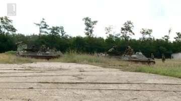 Пехотата проведе тактическо учение на военния полигон край Сопот