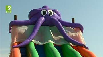 Екстремни забавления за деца край морето