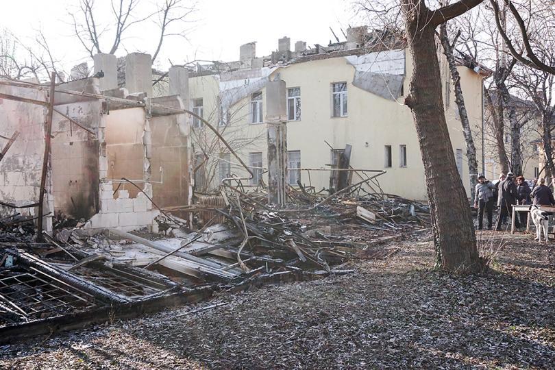 снимка 11 Започва ремонтът на сградите на психодиспансера и Белодробната болница в София