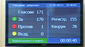 Парламентът освободи Филип Златанов