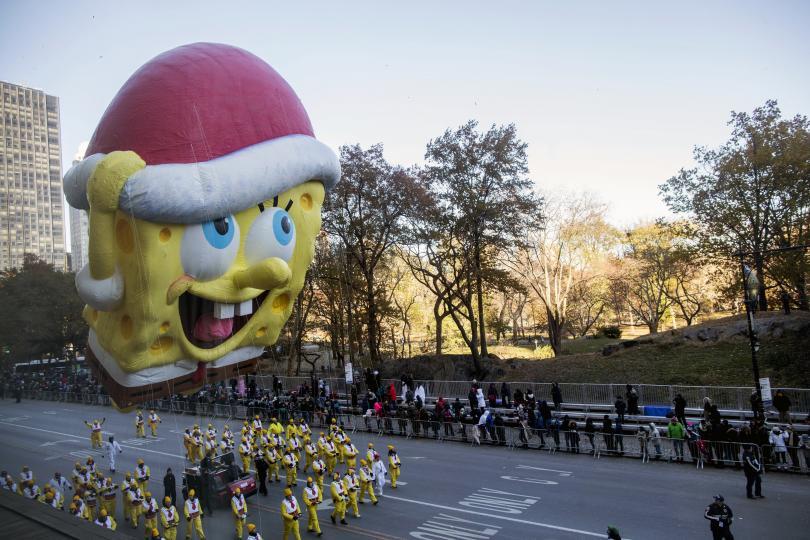 снимка 10 Рекорден студ за Деня на благодарността в Ню Йорк (СНИМКИ)