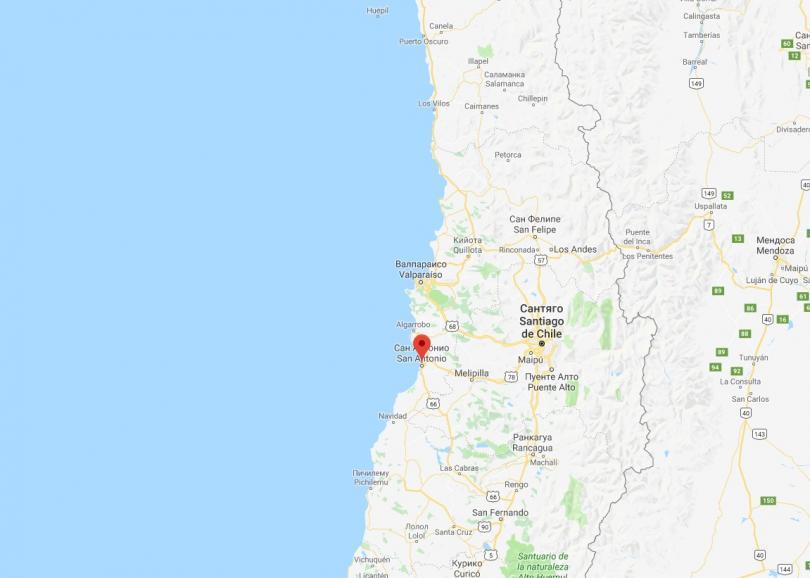 силно земетресение регистрирано чили
