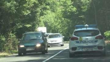 Полицията провежда акция за безопасност на движението между Бургас и Приморско