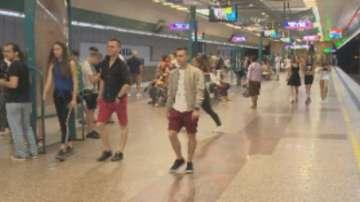 Без пострадали завърши инцидентът в метрото в София