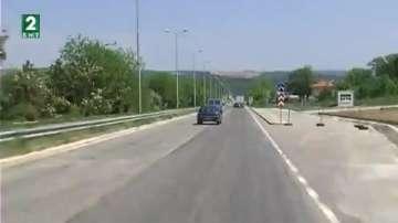 През юли започва ремонт на пътя при беленския баир