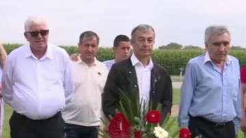 Футболни легенди на ЦСКА отдадоха почит на загинали край Вуковар българи