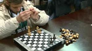 Демонстративна партия шах в рамките на кампанията Вярвам в теб
