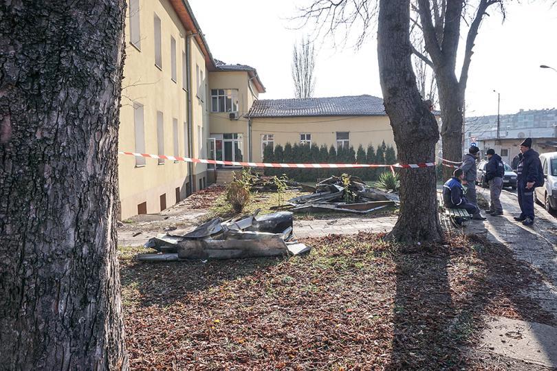 снимка 2 Започва ремонтът на сградите на психодиспансера и Белодробната болница в София
