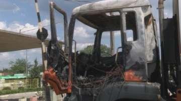 Запалиха сметопочистващите камиони в Свиленград