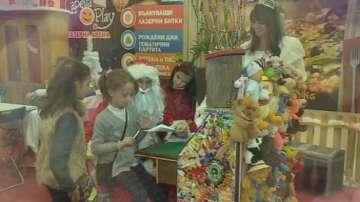 Малките репортери на БНТ се срещнаха с дядо Коледа