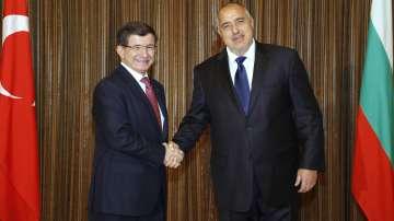 Посещението на министър-председателя на Турция в София (Live Feed)