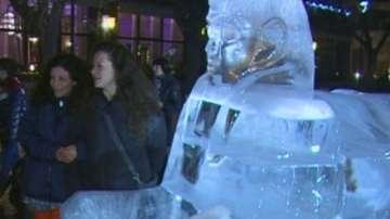 Откриха международният фестивал на ледените фигури в Русе
