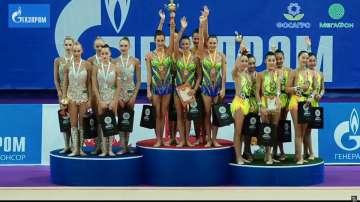 Ансамбълът ни по гимнастика отново се окичи със злато