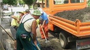 Чистят Добрич след наводнението