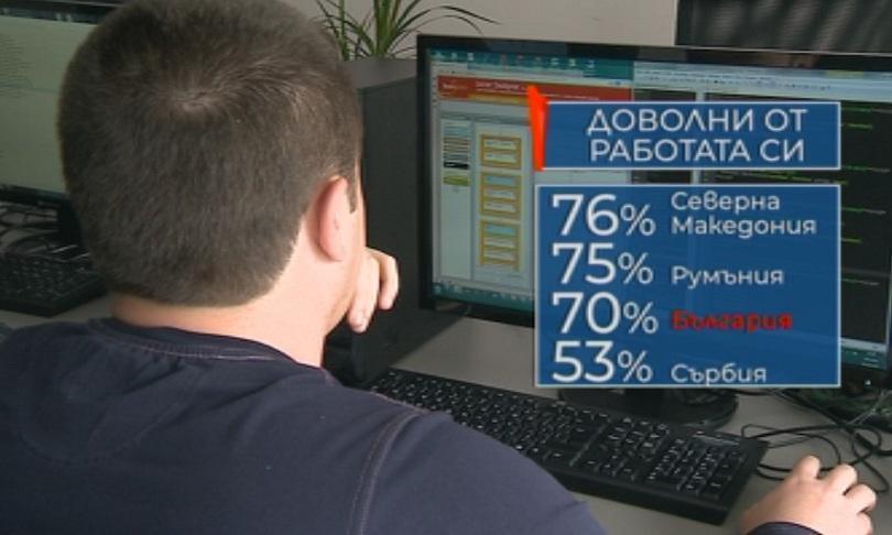 снимка 1 Къде сме ние?: Половината българи са доволни от заплатата си
