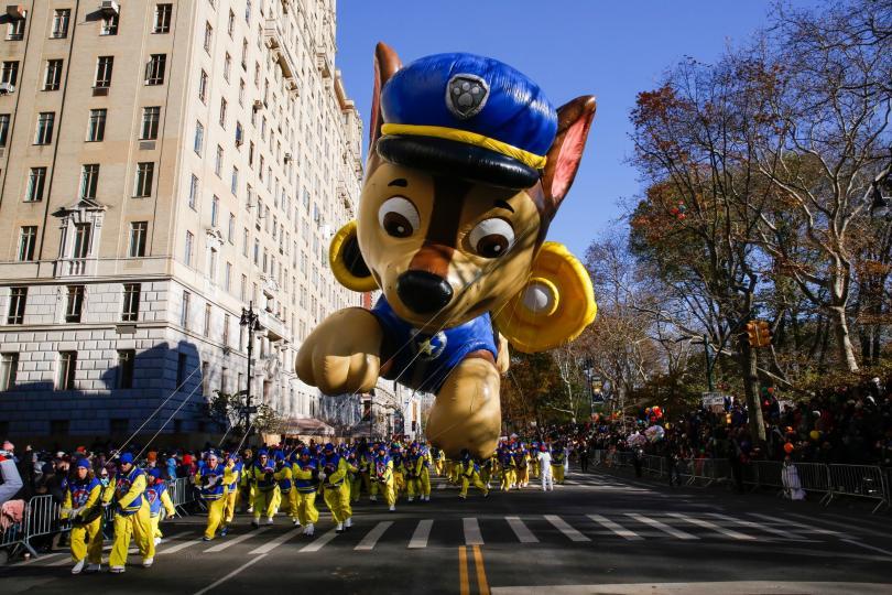 снимка 12 Рекорден студ за Деня на благодарността в Ню Йорк (СНИМКИ)