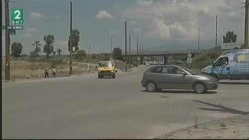 След трагичен инцидент изграждат светофар на опасното кръстовище в Благоевград